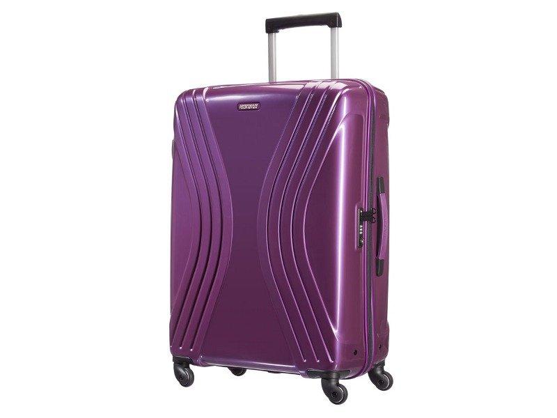 Duża walizka AMERICAN TOURISTER 91A Vivotec fioletowa