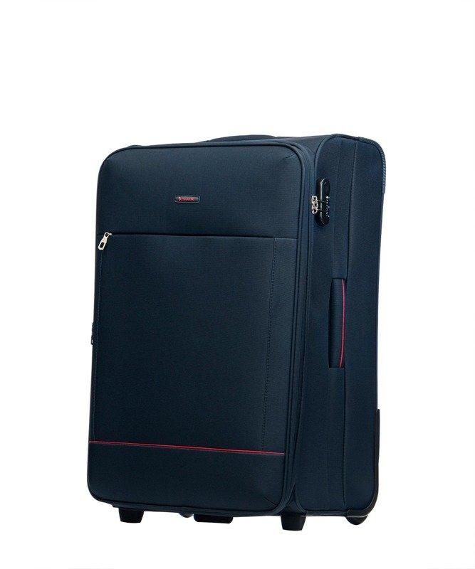 cb899c6899bda Duża walizka PUCCINI EM-50408 Verona granatowa - Opinie, Kup teraz ...