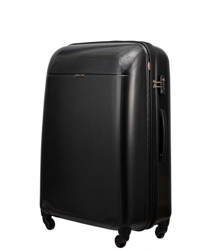 9fcc244def314 Duża walizka PUCCINI PC005 Voyager czarna - Opinie, Kup teraz Online
