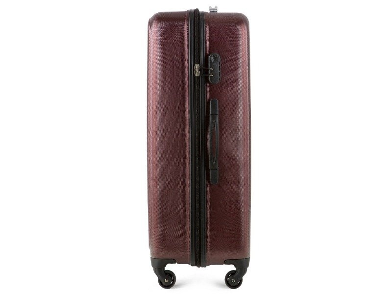 98e289c267f3e Duża walizka WITTCHEN 56-3A-223 bordowa - Opinie, Kup teraz Online
