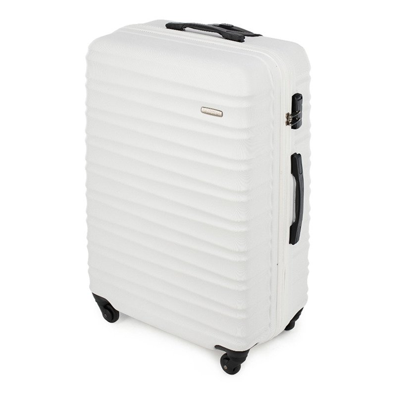 Duża walizka WITTCHEN 56-3A-313 biała