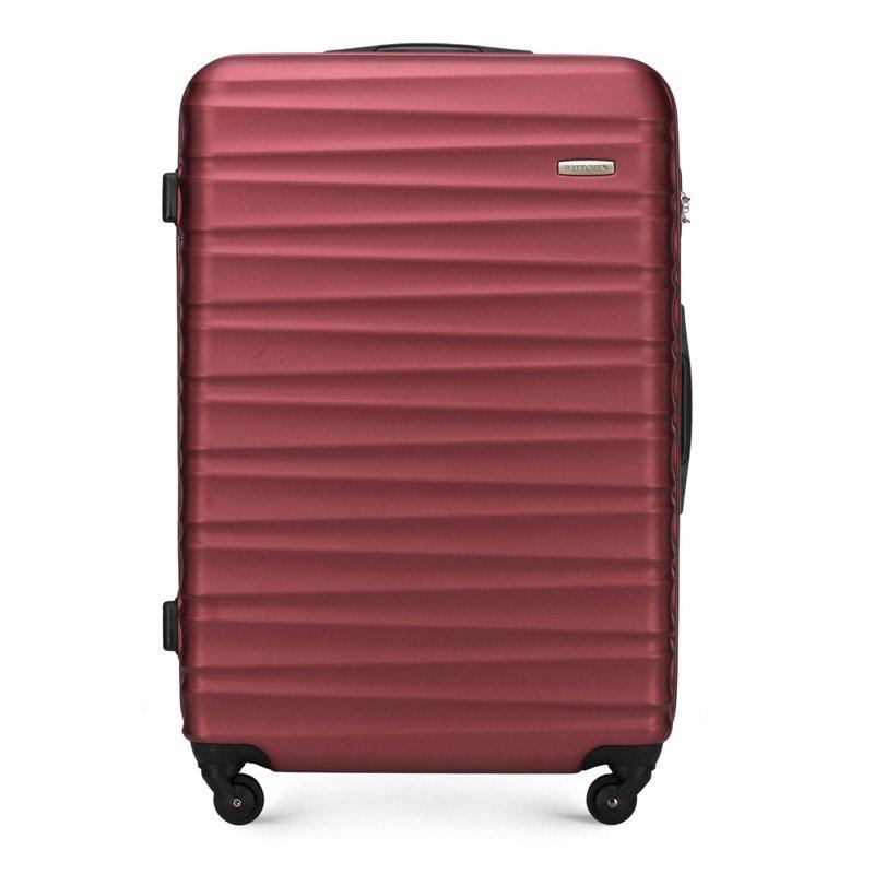 Duża walizka WITTCHEN 56-3A-313 bordowa