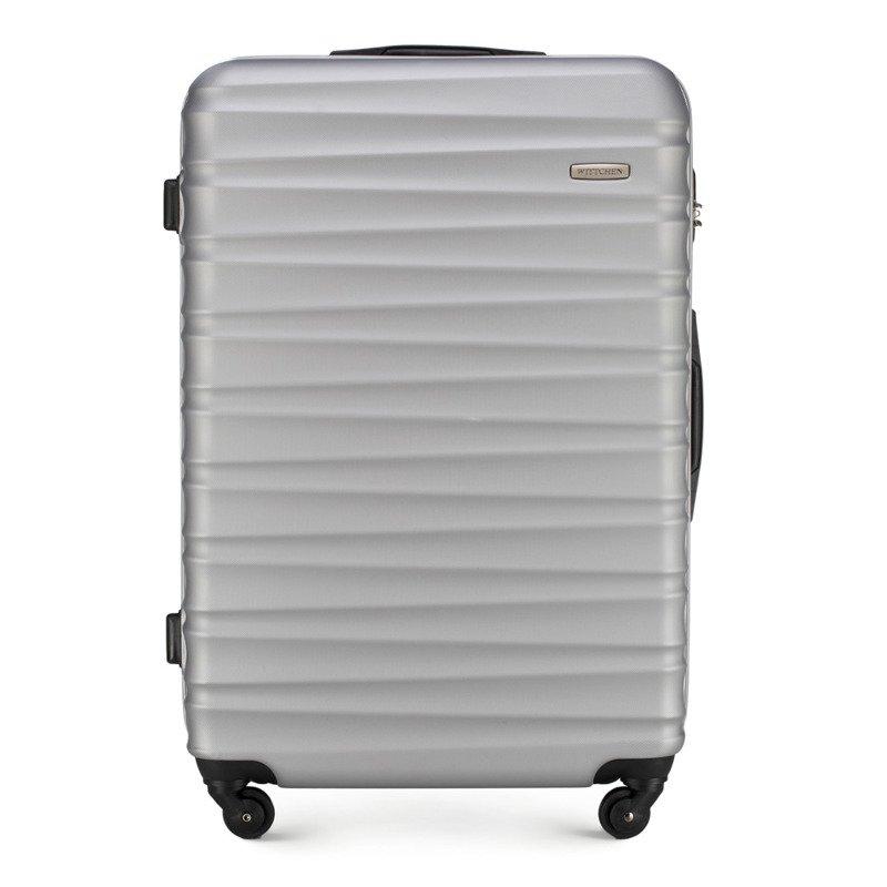 Duża walizka WITTCHEN 56-3A-313 szara