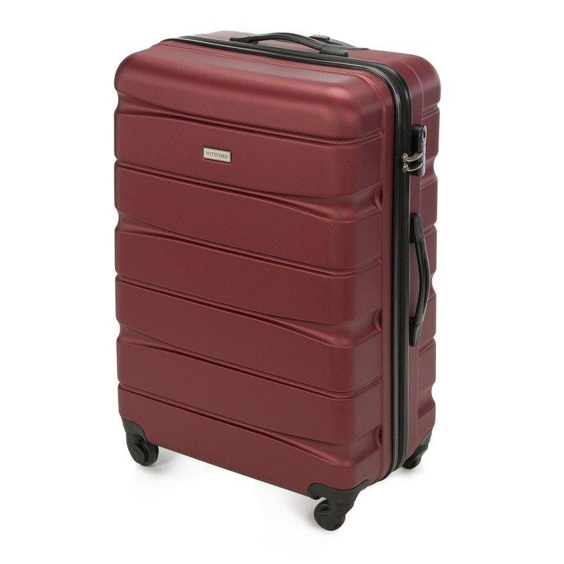 00aedb2ee983f Duża walizka WITTCHEN 56-3A-363 bordowa - Opinie, Kup teraz Online