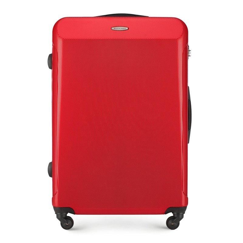 Duża walizka WITTCHEN 56-3P-973 czerwona