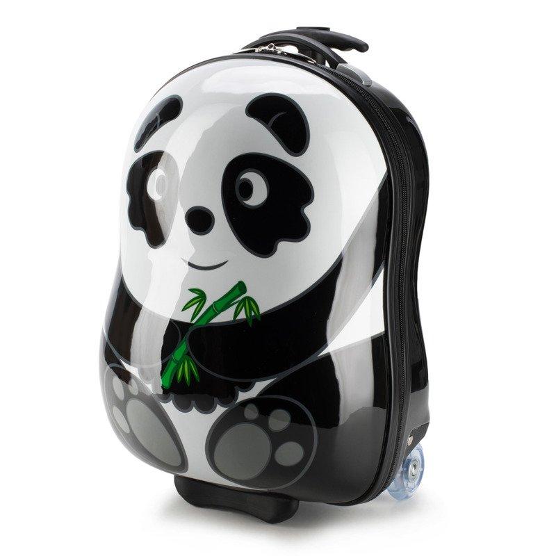 Dziecięca walizka WITTCHEN 56-3K-006 panda