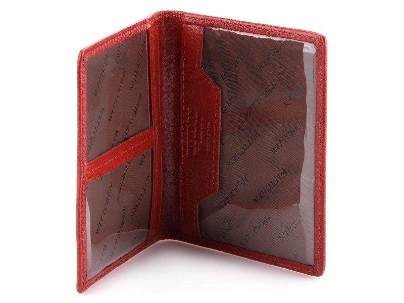 23b8c7d8e1ff9 ... Etui na dokumenty WITTCHEN 25-2-163 czerwone Kliknij, aby powiększyć ...