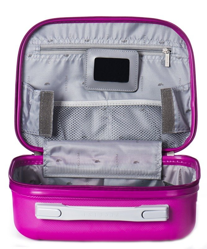 Wnętrze kuferek / kosmetyczka PUCCINI ABSQM04 Ibiza różowy