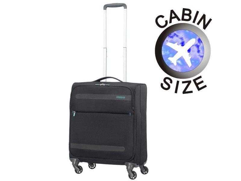 Mała walizka AMERICAN TOURISTER 26G Herolite czarna