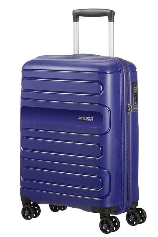 Mała walizka AMERICAN TOURISTER Sunside 51G granatowa