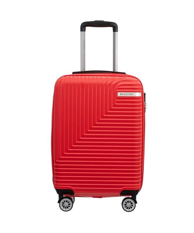 Mała walizka PUCCINI ABS014 C Florence czerwona