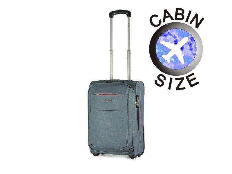1eef4628e46e2 Mała walizka PUCCINI EM-50307 Camerino szara - Opinie, Kup teraz Online