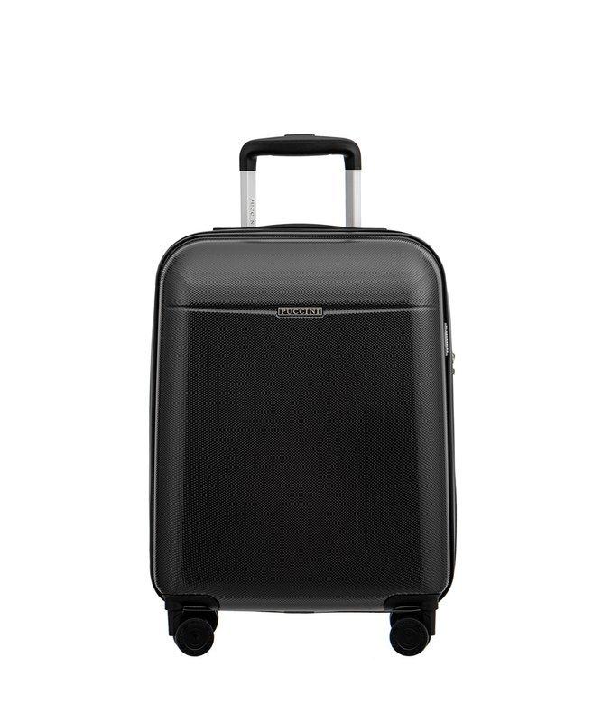 Mała walizka PUCCINI PC005 New Voyager grafitowa
