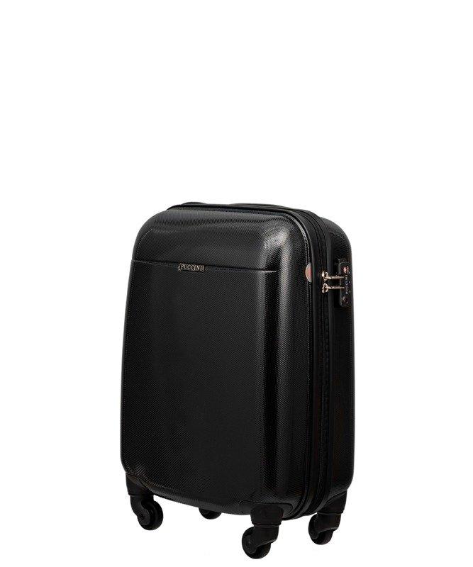 21270b6976575 Mała walizka PUCCINI PC005 Voyager czarna - Opinie, Kup teraz Online