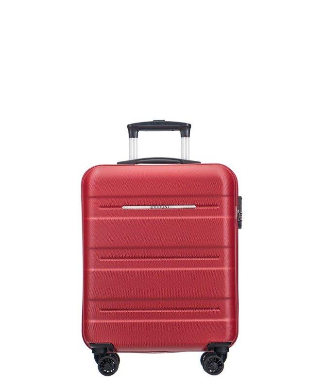 fbe2c1e876510 Mała walizka PUCCINI PC025 C Atlanta czerwona - Opinie, Kup teraz Online