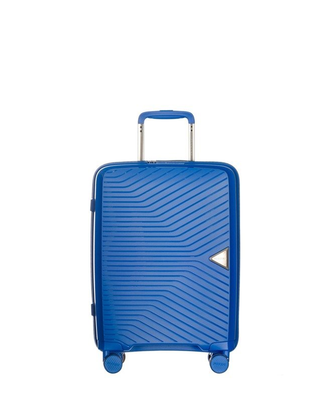 b1efedc4680d6 Mała walizka PUCCINI PP014 C Denver niebieska - Opinie, Kup teraz Online