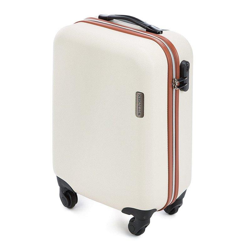 eb5c31a636908 Mała walizka WITTCHEN 56-3-610-85 ecru - Opinie
