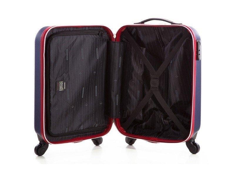 b04bb2c3ee6fc ... Mała walizka WITTCHEN 56-3-610 granatowa Kliknij, aby powiększyć ...