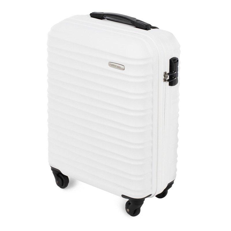 ea7a439e00f91 Mała walizka WITTCHEN 56-3A-311 biała - Opinie, Kup teraz Online
