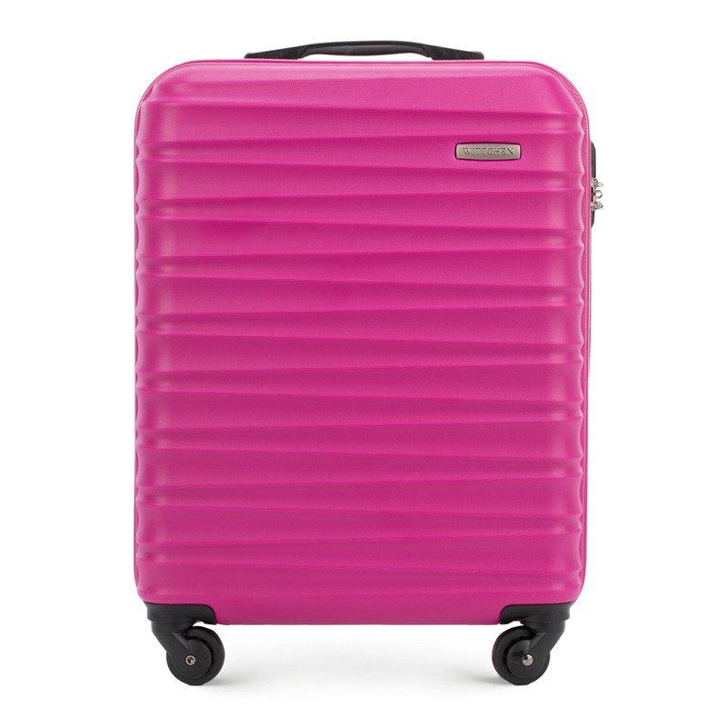 bdfd3eda24599 Mała walizka WITTCHEN 56-3A-311 różowa - Opinie, Kup teraz Online