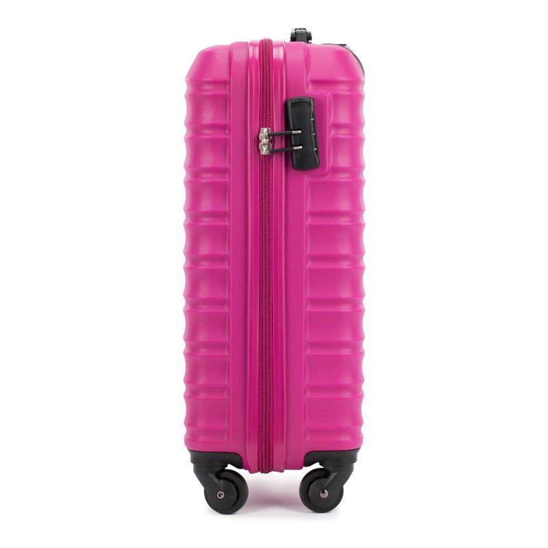 e12c544bf66a7 ... Mała walizka WITTCHEN 56-3A-311 różowa Kliknij, aby powiększyć ...