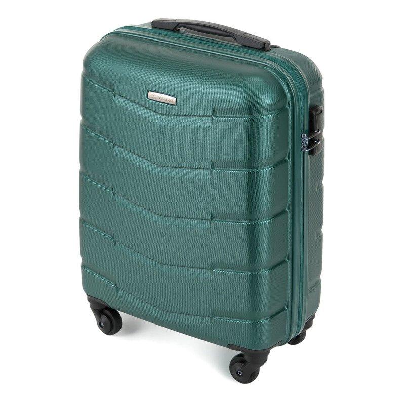 Mała walizka WITTCHEN 56-3A-401 zielona