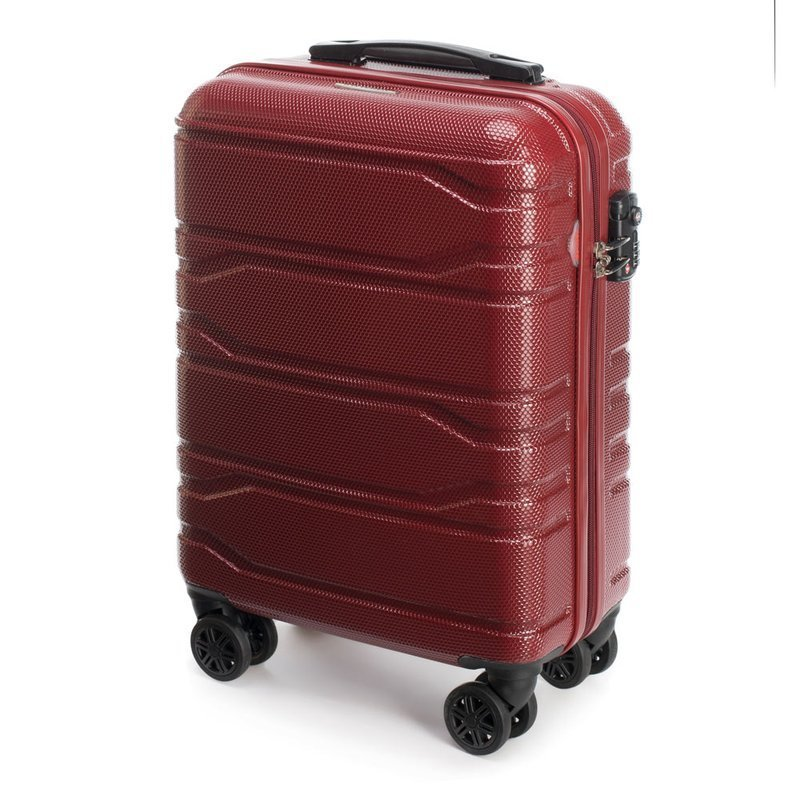 Mała walizka WITTCHEN 56-3P-981 czerwona