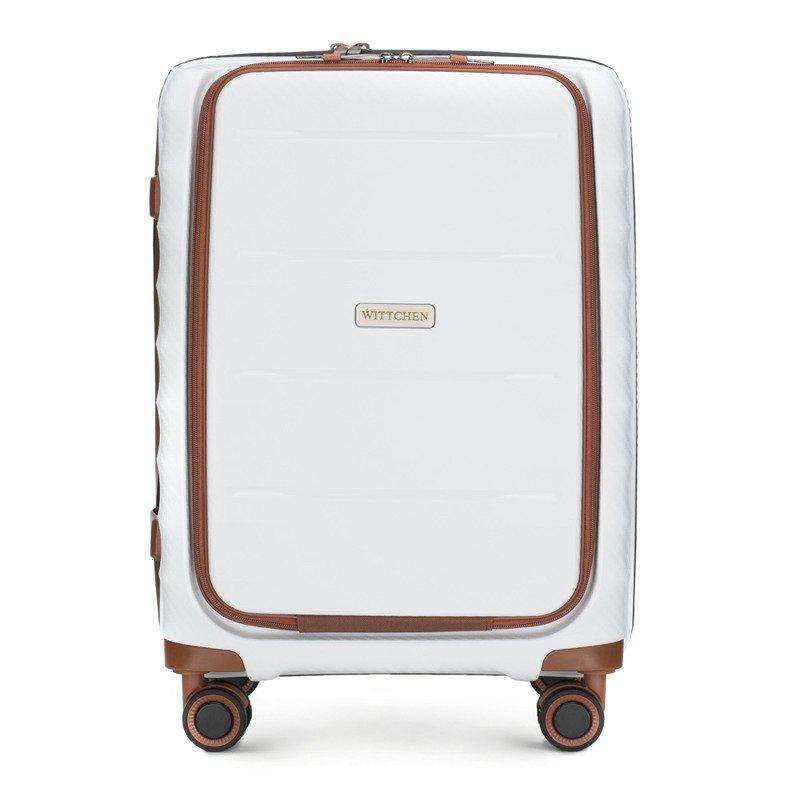 Mała walizka WITTCHEN 56-3T-760 biała