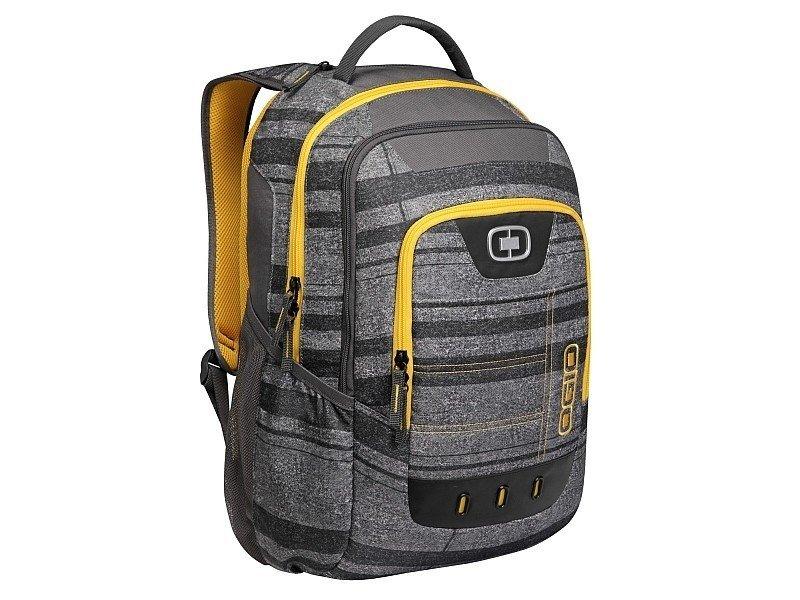 Plecak OGIO OPERATIVE 17 szaro-żółty z miejscem na laptopa