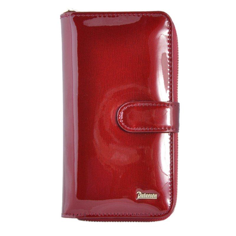 1121eadff214c Portfel damski PETERSON BC-603-T czerwony - Opinie