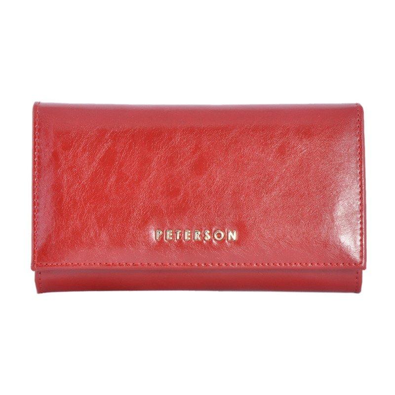 Portfel-damski-PETERSON-PL-466-czerwony-12939_4