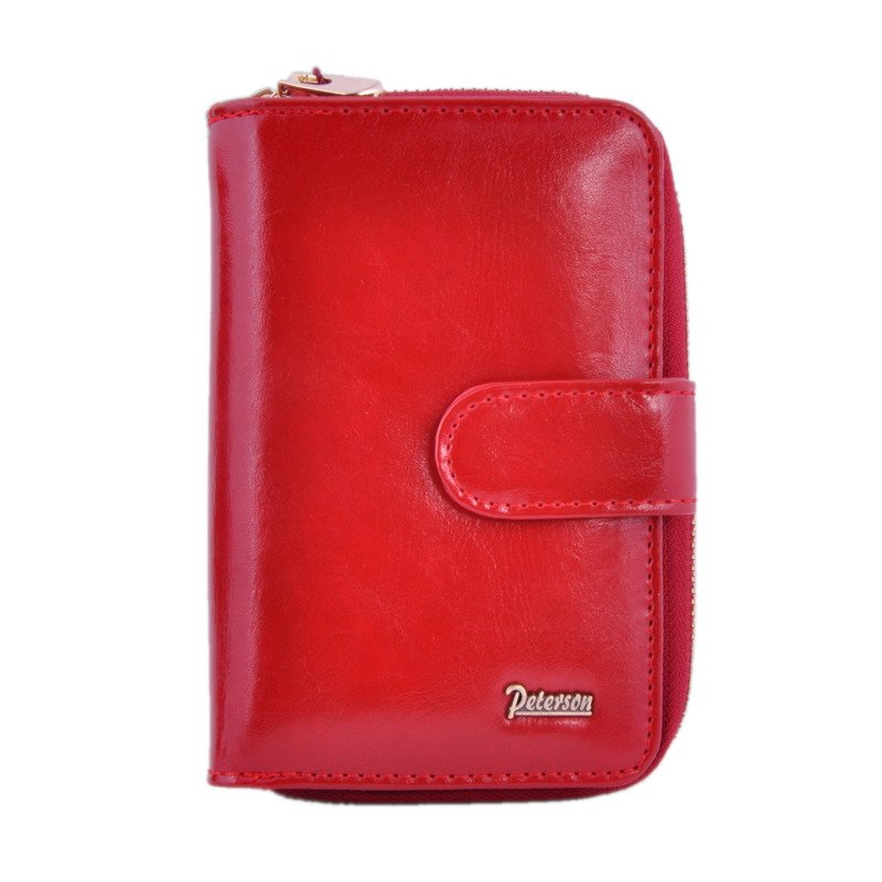af5e82423045d Portfel damski PETERSON BC-602 czerwony - Opinie, Kup teraz Online