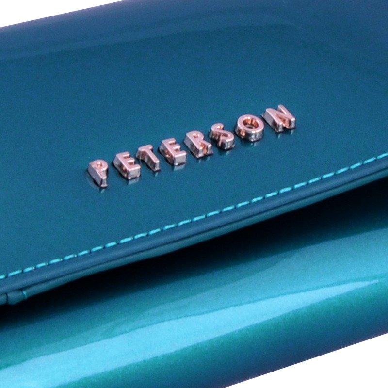4b41f85041aeb ... Portfel damski PETERSON RFID BC-412 turkusowy Kliknij