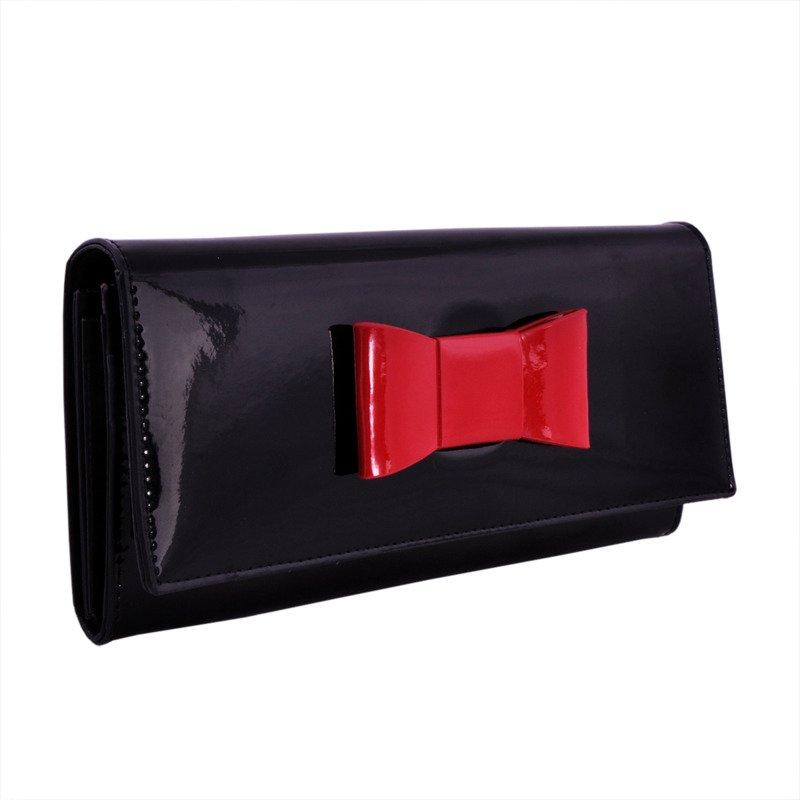 10a2f69f05c32 Portfel damski PETERSON RFID BC-467-2 K czarny z kokardą - Opinie ...
