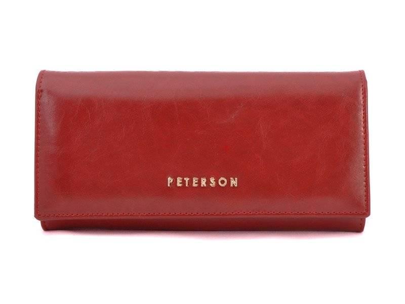 5aa3c1b8e0996 Portfel damski PETERSON RFID PL-467 czerwony - Opinie