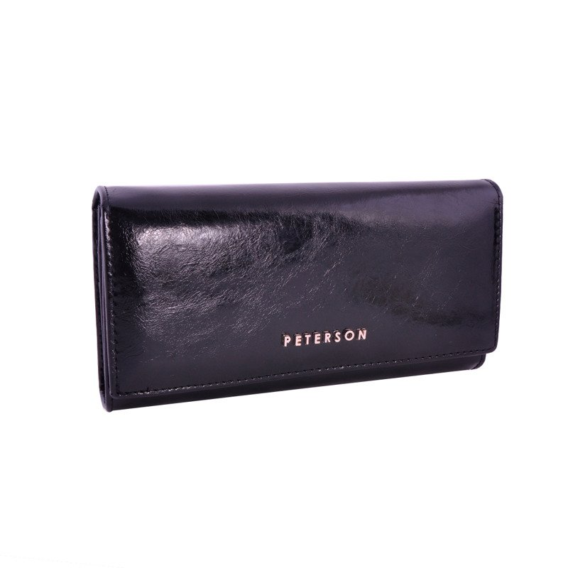 1754029e2471d Portfel damski PETERSON RFID PL-490 czarny - Opinie