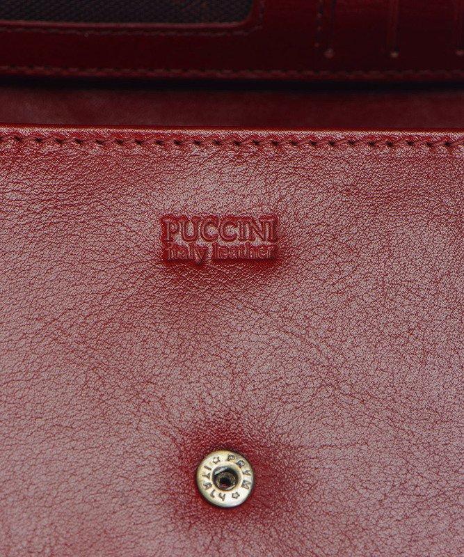 e2894435a02a6 ... Portfel damski PUCCINI MU-1706 czerwony Kliknij
