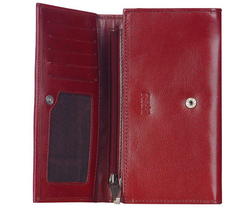 c30b528d1699a Portfel damski PUCCINI MU-1706 czerwony - Opinie