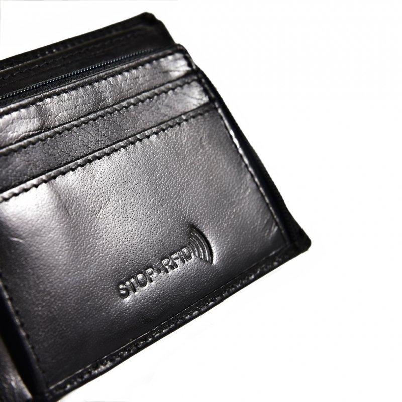 76f09925786c6 ... Portfel męski PETERSON 382-RFID-2-1-1 czarny Kliknij, aby powiększyć ...