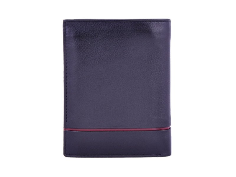f24273b9ef987 Portfel męski PIERRE CARDIN SAHARA TILAK 331 RFID czarny z czerwonym ...