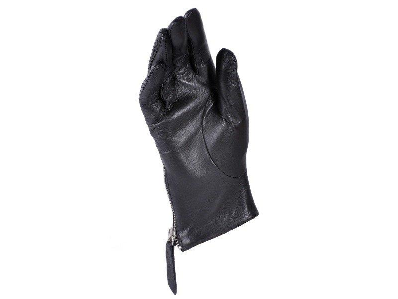 356b2d200bca5 Rękawiczki damskie PUCCINI D-1578 czarne z zamkiem - Opinie