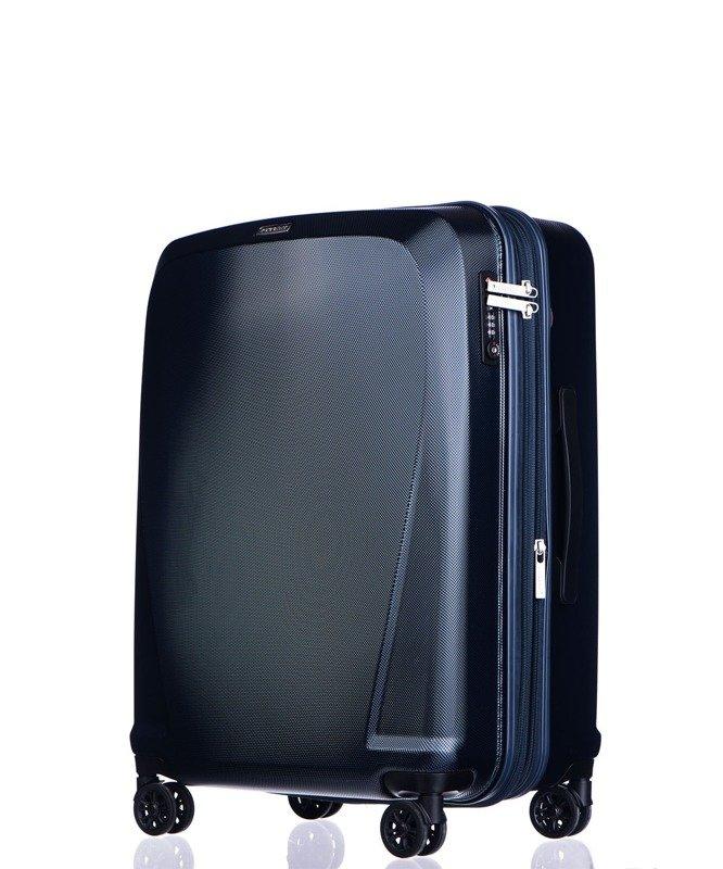 ac6dac66122a8 Średnia walizka PUCCINI PC019 Londyn granatowa - Opinie, Kup teraz ...