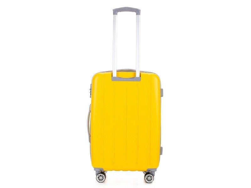c9c0281376c17 Średnia walizka VIP COLLECTION V25-10-812-60 żółta - Opinie, Kup ...