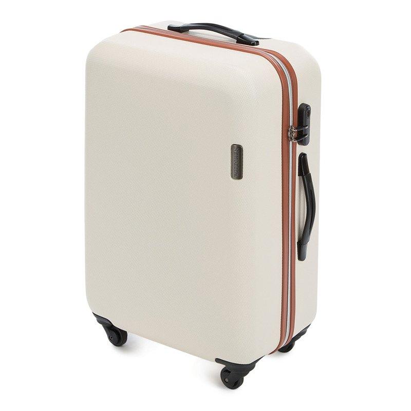 65c7be80953ee Średnia walizka WITTCHEN 56-3-612 ecru - Opinie, Kup teraz Online